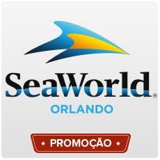 SeaWorld Orlando - Uma visita - Acima de 3 anos (Ingresso Voucher Promocional)