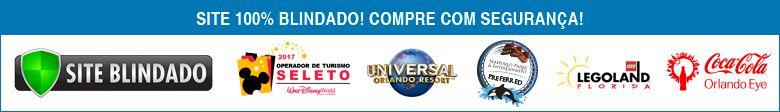 Banner Footer - Compre com segurança - Visit Orlando